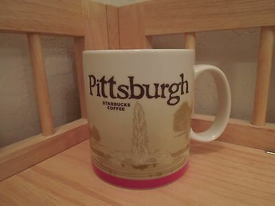 2011 Starbucks Collector Series Pittsburgh  Mug 16oz