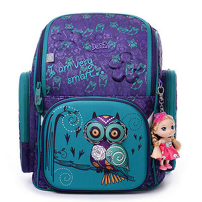 Russia Style Orthopedic School Bag For Boy & Girl Ultralight Waterproof Backpack