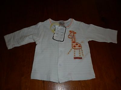 BABY JACKET - BY BABY BABY WITH CUTE GIRAFFE - approx 6 Months