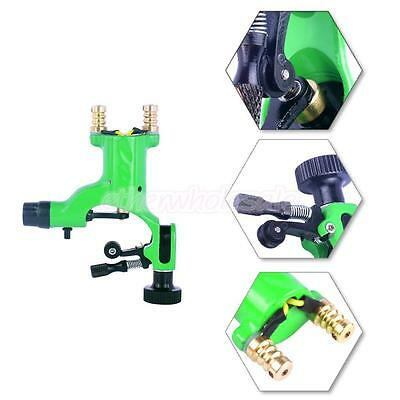 New Silent Rotary Motor Tattoo Dragonfly Machine Gun for Liner Shader Green