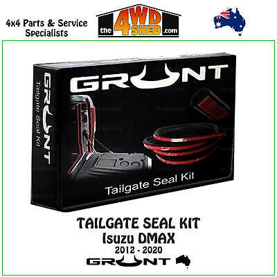 Tailgate Rubber Seal Kit Isuzu Dmax 2012 - Onwards Tail Gate Dust Water Free