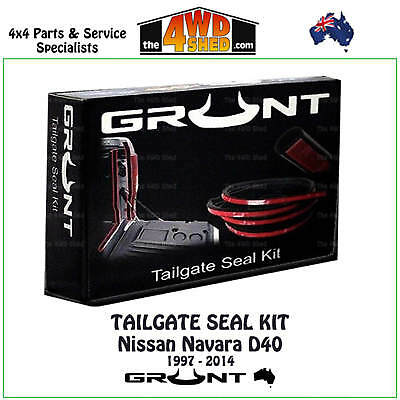 Tailgate Rubber Seal Kit Nissan Navara D40 1997 - 2014 Tail Gate Dust Water Free