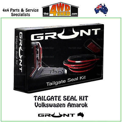 Tailgate Rubber Seal Kit Volkswagen Amarok 2010 - 2017 Tail Gate Dust Free