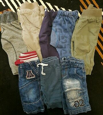 boys size 000 and 00 pants x8