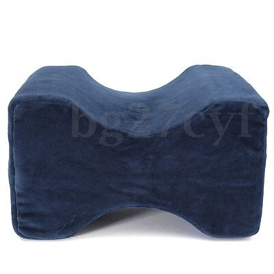 Pillow Back Pain Leg Knee Rest Ortho Bed Wedge Washable Cover Memory Foam Sleep