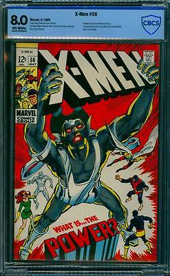 X-Men # 56  What is...the Power ?  Neal Adams Classic !  CBCS 8.0 scarce book !