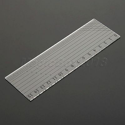 Sew-Easy Quilters Patchwork Ruler Sewing Quilting Cutting Tools Clear 15*5cm