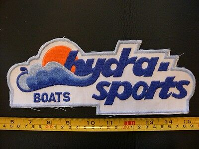 Embroidered patch HYDRA - SPORTS boats racing hydroplane powerboat large back