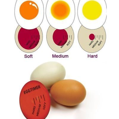 Magic Color Changing Egg Timer Kitchen Cook Cooking Boil Eggs Thermometer New Q#