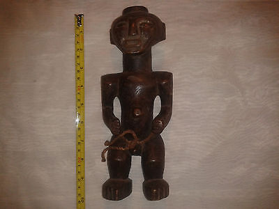 Mid 20Th C? African Wood Carved Figure.