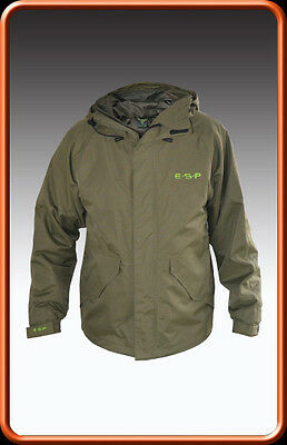 ESP Super Grade NEW Carp Fishing Breathable Waterproof Jacket *All Sizes*
