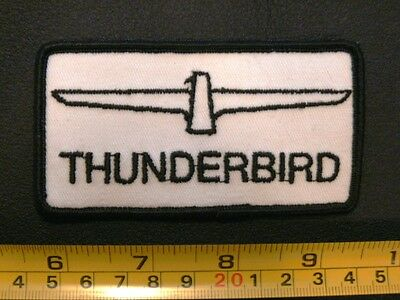 Embroidered patch 2 FORD THUNDERBIRD vintage 1960's original 2 for One Price!