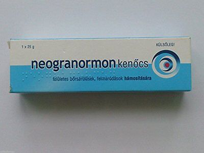 Neogranormon Nappy/Diaper Cream for Delicate Baby Skin Care with Zinc Oxide & Vi