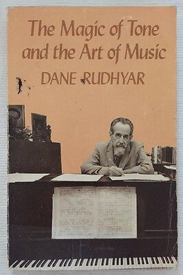 The Magic Of Tone And The Art Of Music Paperback Book 1982 Dane Rudhyar