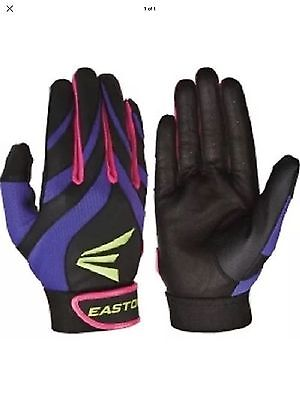 EASTON SYNERGY 2 NEW! Adult Fastpitch Batting Glove Size S