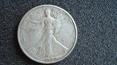 1929-D Walking Liberty Half Dollar, Very Nice Circulated Condition