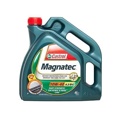 Castrol Magnatec 10w40 Part Synthetic Engine Oil 4L