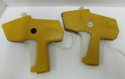 Two Monarch 1110 Price Tag Label Guns For Parts Or Repair Pitney Bowes