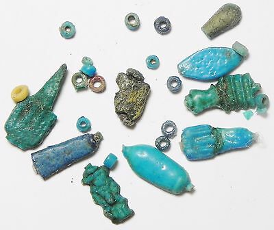 Zurqieh - Af2261- Ancient Egypt. Lot Of Amarna Amulets. 1400 B.c