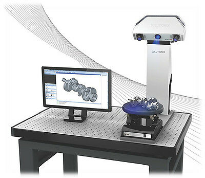 Solutionix CS+ 3D Scanner - High Accuracy Reverse Engineering & 3D Printing