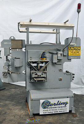 70 Ton Used Iron Crafter Hydraulic Ironworker, Mdl. 70-70, #a1737