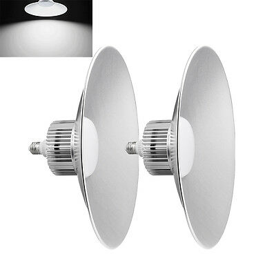 2x 100W LED High Bay Light Spotlight Factory Industrial Warehouse Commercial Day