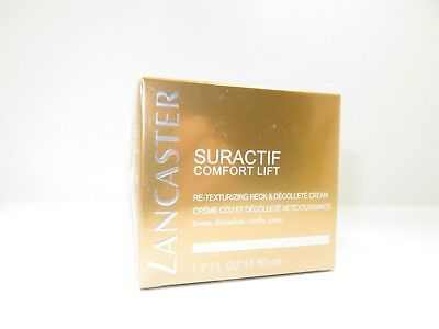 Lancaster Suractif Comfort Re-Texturizing Neck & Decollette Hals Ausschnitt50 ml
