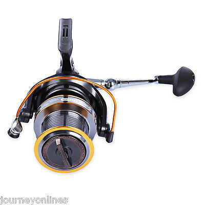 DIAO DE LAI Lj9000 4.11:1 Metal Spool Spinning 12+ 1 Ball Bearings Fishing Reel