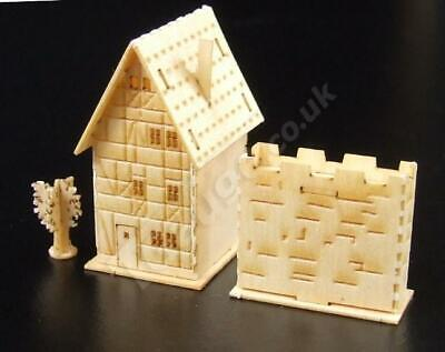 T Gauge 1:450 Scale Half Timbered House Kit