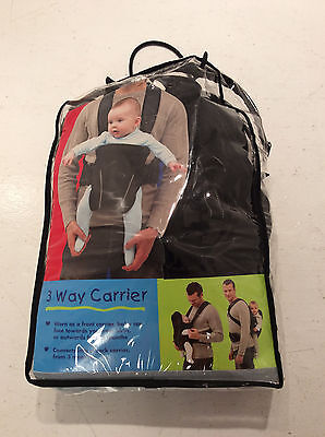 Bruin 3 Way Baby Carrier Toys 'R' Us USED Good Condition