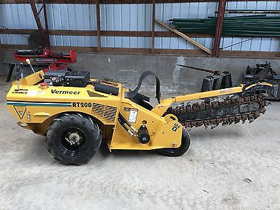 Vermeer RT200 Trencher - Low Hours