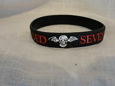 Avenged Sevenfold Rubber Bracelet A7X Jewelry