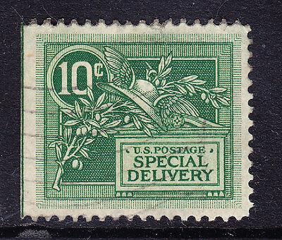 USA 1908 E374 10c green - Special Delivery Stamp - fine used. Catalogue £55