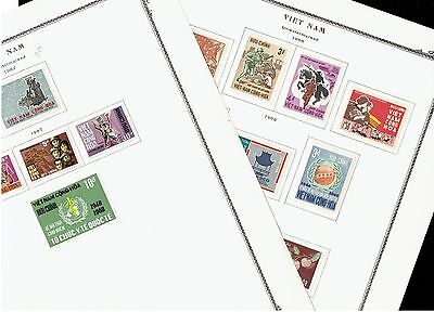 Vietnam Stamp Mint Stamps Collection Lot
