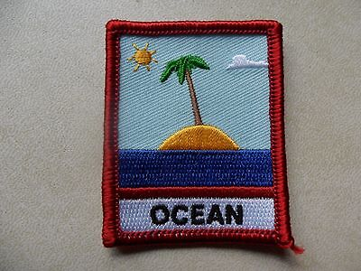 Australian Cub Scouts Ocean Embroidered Cloth Badge