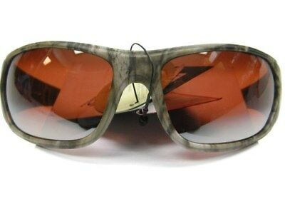 STRIKE KING S11 Optics Camo CHAMPLAIN Amber Brown POLARIZED Lens Sunglasses!