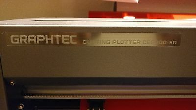 "24"" Graphtec CE6000-60 Vinyl Cutter Plotter with Stand."