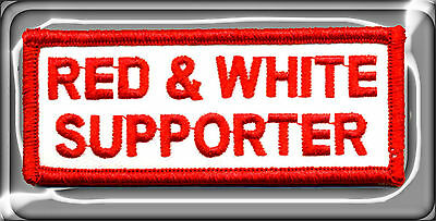 Hells Angels Big House Crew 'red & White Supporter' Support Patch