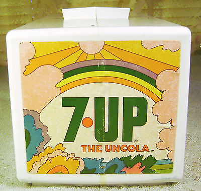 7 UP SODA FOUNTAIN  DISPENSER Replacement Top ONLY 1970s