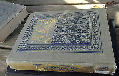 1901 ARCHITECTURE DESIGN DICTIONARY A Dictionary of Architecure and Building F-N