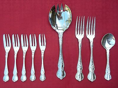 Vintage Silver Plated RODD Camille Assorted Cutlery Pieces LOT Spoon Forks