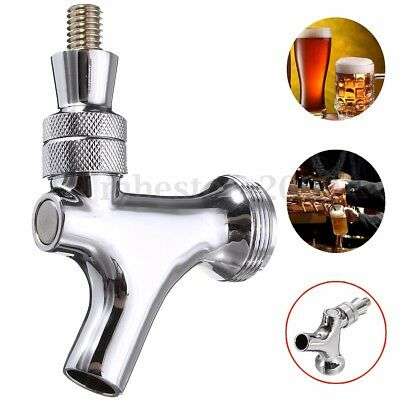 Chrome Draft Beer Faucet Tap For Kegerator Or Tower Draft Home Brew New