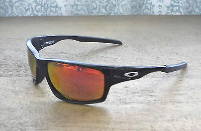 f74820d580 New Oakley Canteen Sunglasses Pol Black   Custom Polarized Ruby w Silver