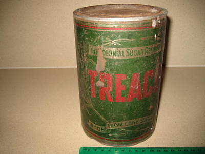 vintage tin CSR Treacle 7 lbs Colonial Sugar Refinery large