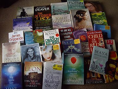 Assorted books - 30 titles!!