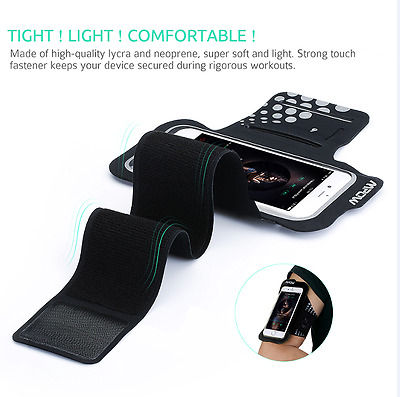 Mpow Sports Running Jogging Gym Armband Arm Band Cover Case for iPhone 7 6S 6