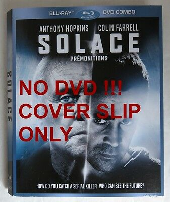 No Discs !! Solace Blu-Ray Cover Slip Only - No Discs !!              (Inv13464)