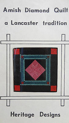 Amish Diamond Quilt by Heritage Designs - Needlepoint booklet
