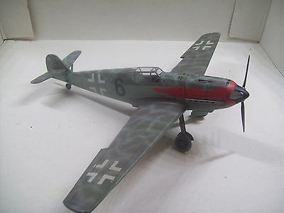 prebuilt 1/48 bf-109T-2 high alittude/naval long wing fighter
