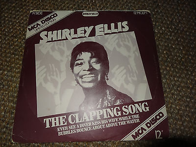 """Shirley Ellis - The Clapping Song / The Name Game LTD EDITION MCA 12"""""""